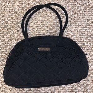 Vera Bradley black quilted pocketbook